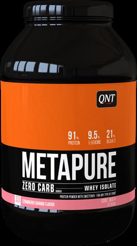 QNT Zero Carb Metapure - 1000g - White Chocolate