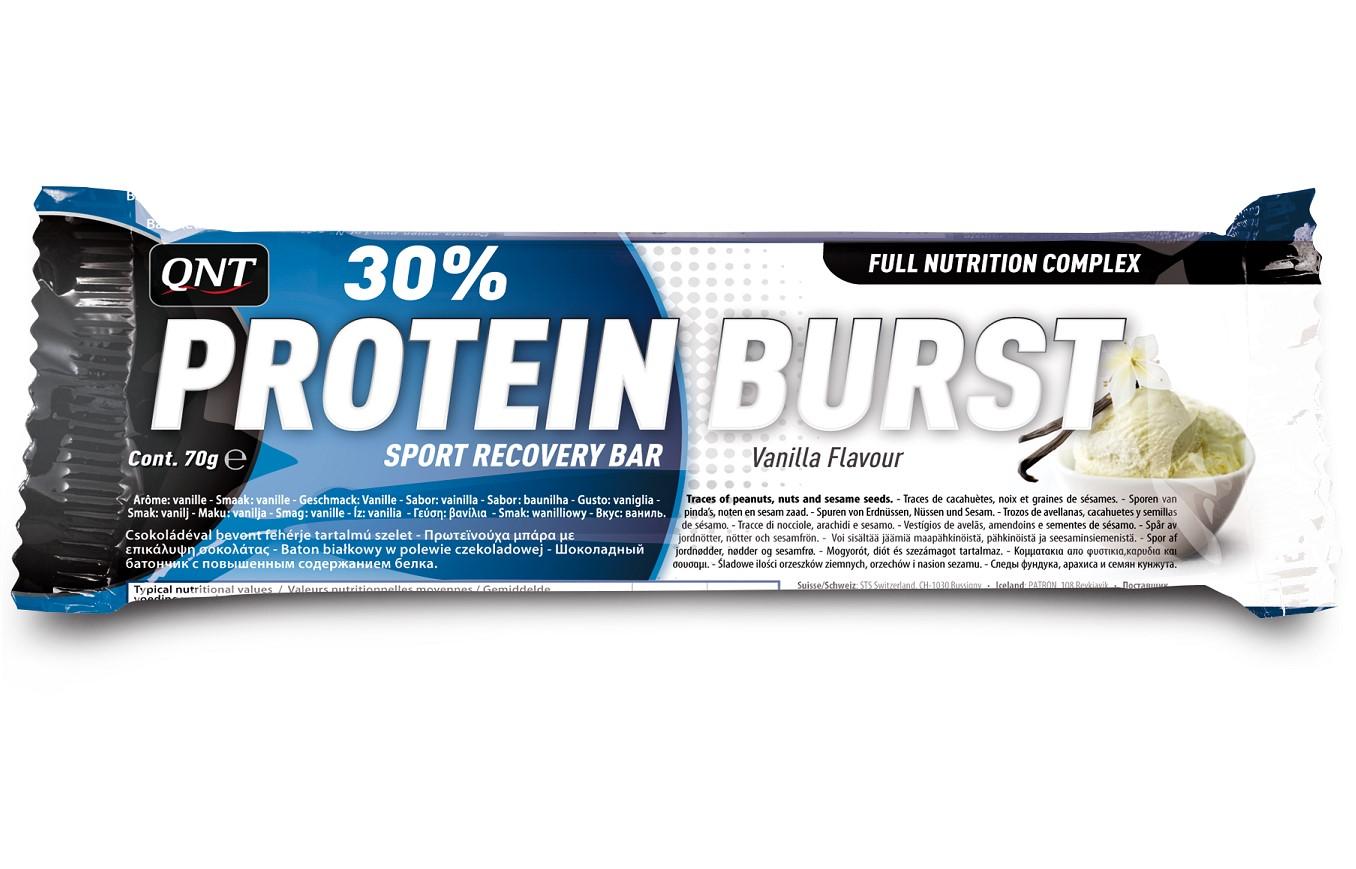 QNT Protein Burst - 12x70g - Aardbei