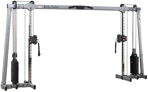 Body-Solid GDCC250 Deluxe Cable Crossover met 2 x 75 kg gewichten