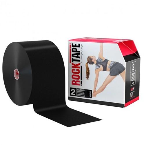 RockTape Classic Kinesiotape - Sporttape - 10 cm x 32 m - Zwart