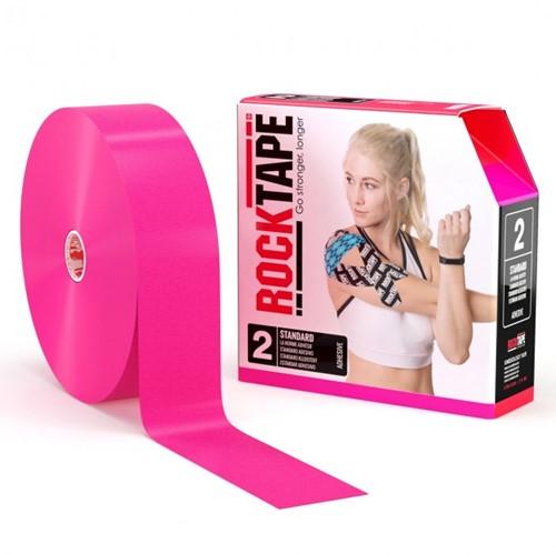 RockTape Classic Kinesiotape - Sporttape - 5 cm x 32 m - Roze
