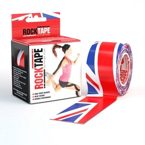 RockTape Classic Kinesiotape - Sporttape - 5 cm x 5 m - UK Vlag