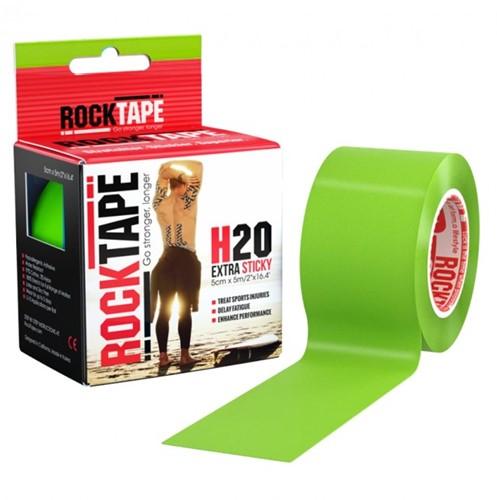 RockTape H20 Kinesiotape - Sporttape - 5 cm x 5 m - Groen