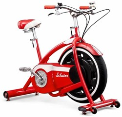 Schwinn Classic Cruiser Retro Bike Hometrainer- met Bluetooth en Zwift