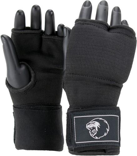 Super Pro Combat Gear Foam Binnenhandschoenen - Zwart/Wit
