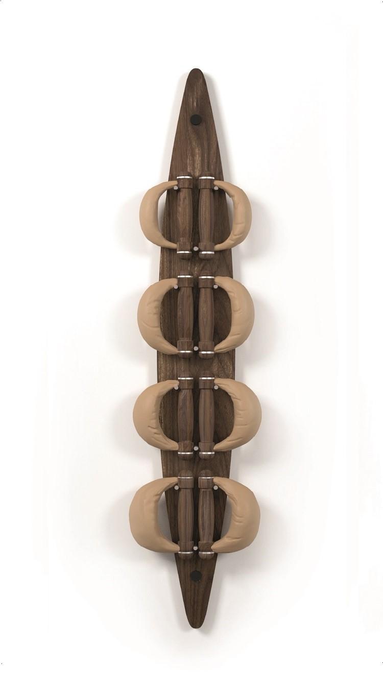 Nohrd Swing Bell Board Set - Walnoot