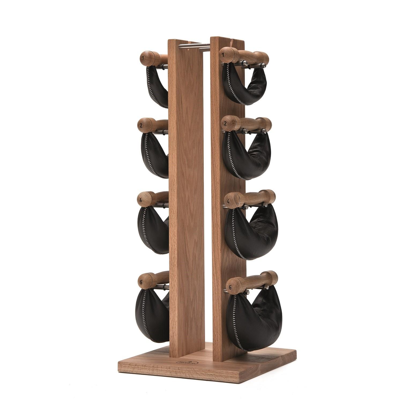 Nohrd Swing Bell Toren Set - Eiken - 1-2-4-6 kg