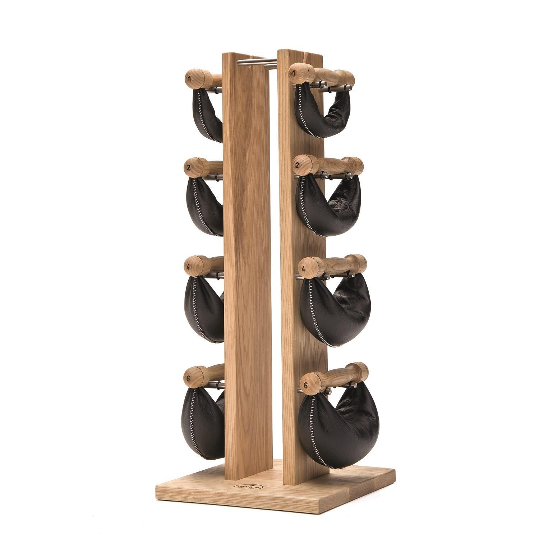 Nohrd Swing Bell Toren Set - Essen - 2-4-6-8 kg