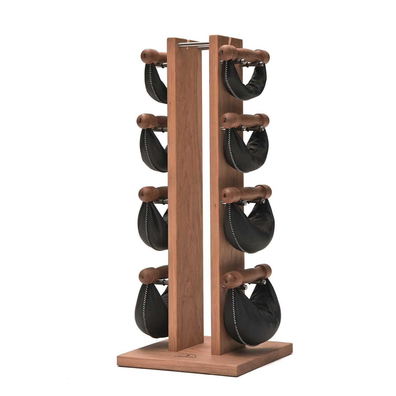 Nohrd Swing Bell Toren Set - Kersen - 1-2-4-6 kg