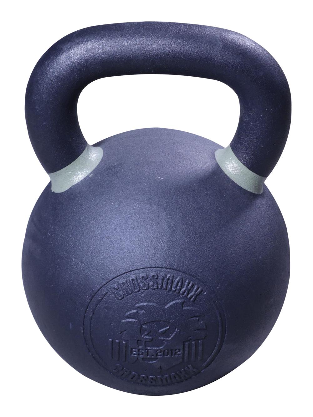 Lifemaxx Crossmaxx Kettlebell - Gietijzer met Poedercoating - 36 kg
