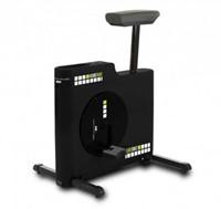BH Fitness Kube Deskbike Hometrainer - Zwart