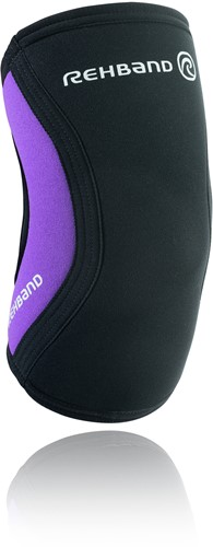 Rehband RX Elleboogbrace - 5 mm - Zwart/Paars