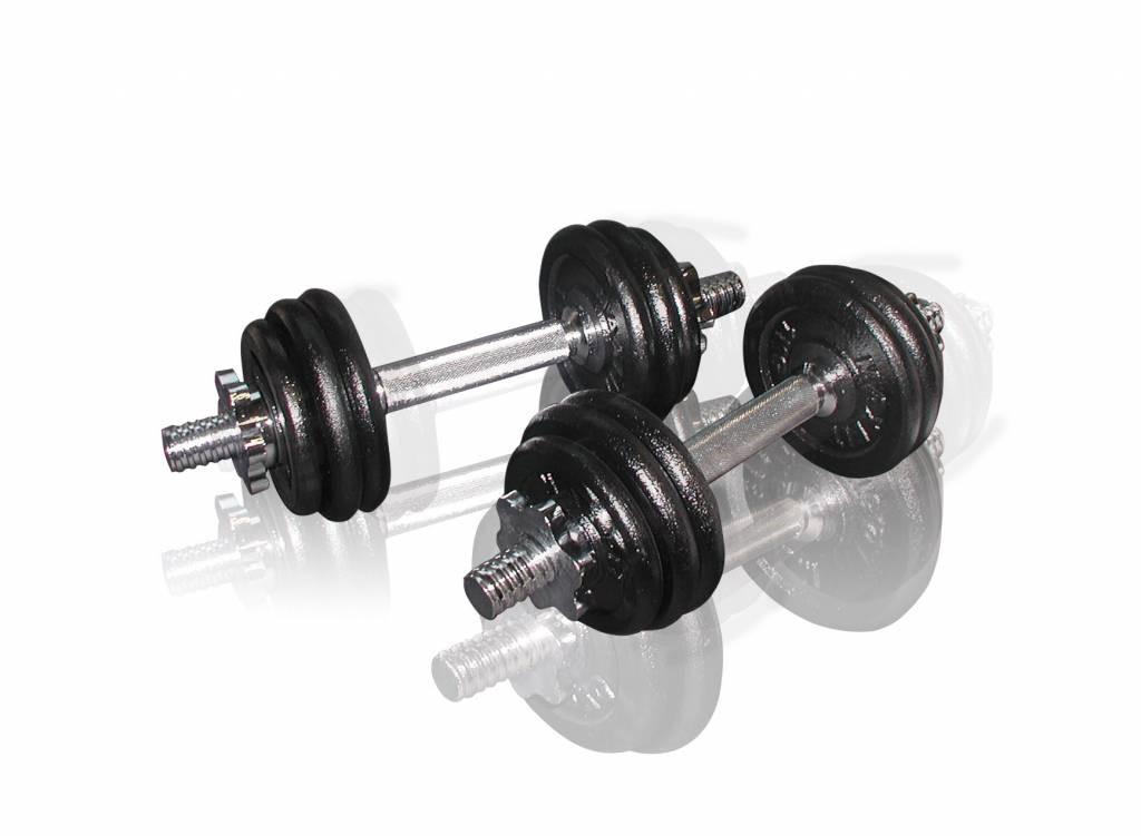 Toorx Fitness Dumbbellset Gietijzer - 2 x 7,5 kg (15 kg)