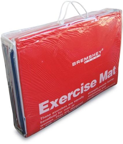 Tunturi PVC Aerobic/Fitnessmat licht beschadigd