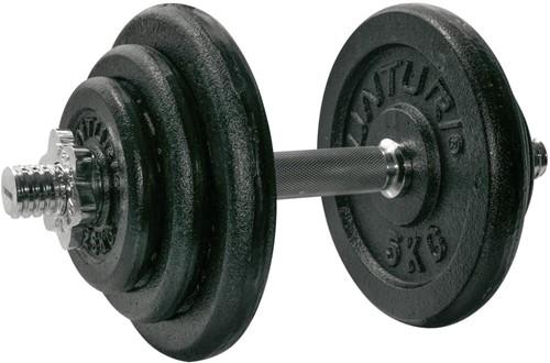 Tunturi Dumbbellset Gietijzer - 1 x 20 kg