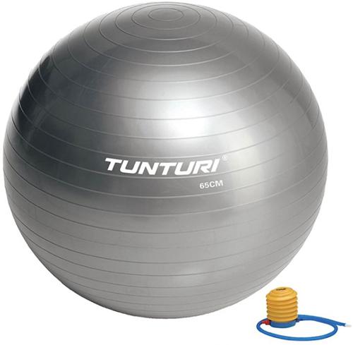 Tunturi Fitnessbal Gymbal Grijs - 65 cm