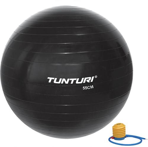 Tunturi Fitnessbal Gymbal Zwart - 55 cm