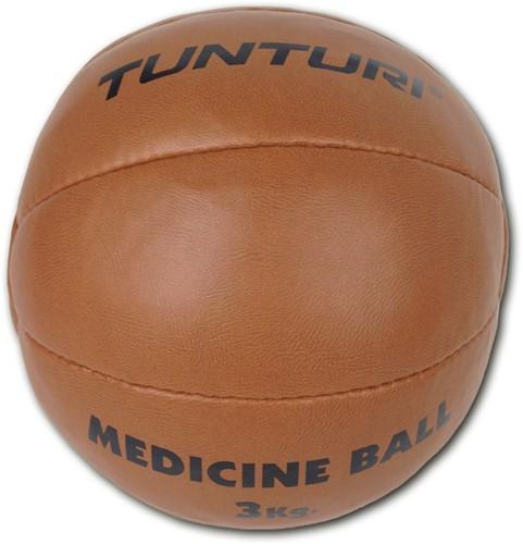 Tunturi Medicijnbal bruin-2