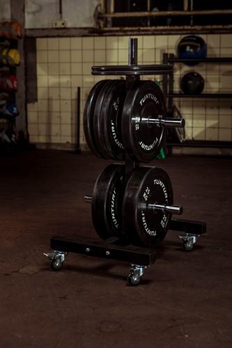 Tunturi Upright Bumper Plate Rack-2