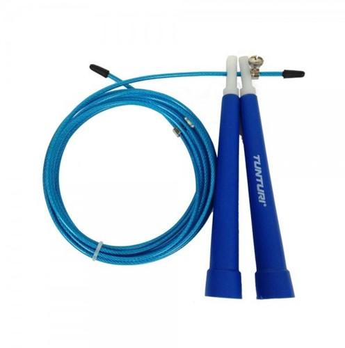 Tunturi Verstelbaar Springtouw - Blauw