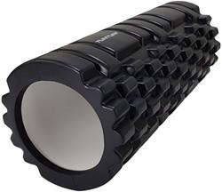Tunturi Yoga Foam Grid Roller - Zwart