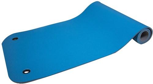 Reha Fit Fitnessmat - Yogamat - 180 x 65 x 0,8 cm - Turquoise/Grijs