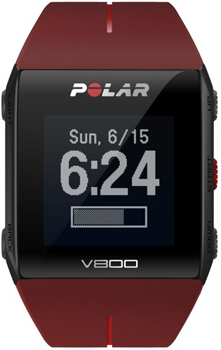 Polar V800 Red HR-2