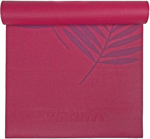 VirtuFit Premium Yogamat - 183 x 61 x 0,4 cm - Plum Forest