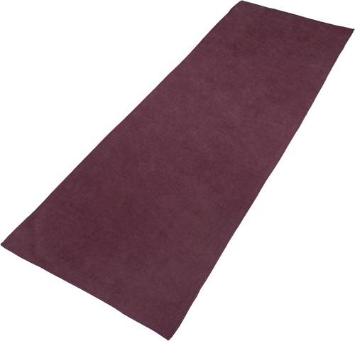 VirtuFit Premium Yogamat Handdoek - 183 x 61 cm - Mulberry