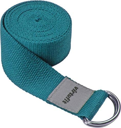 VirtuFit Premium Yoga Riem - 250 cm - Ocean Green