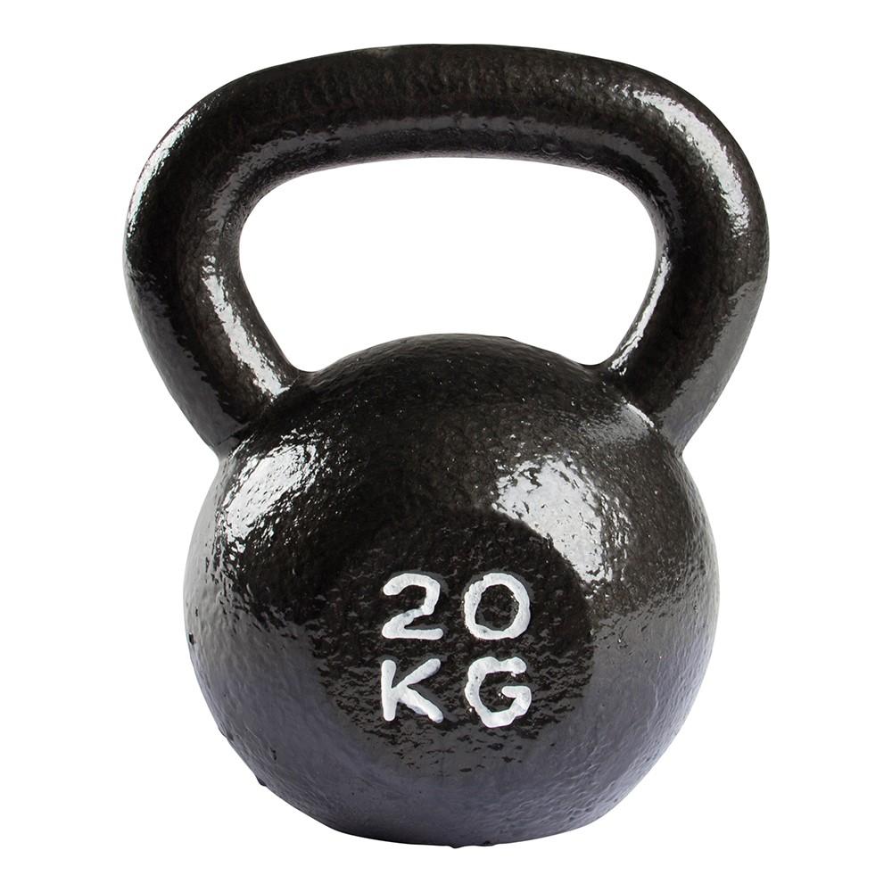 VirtuFit Kettlebell Pro - Kettle Bell - Gietijzer - 20 kg