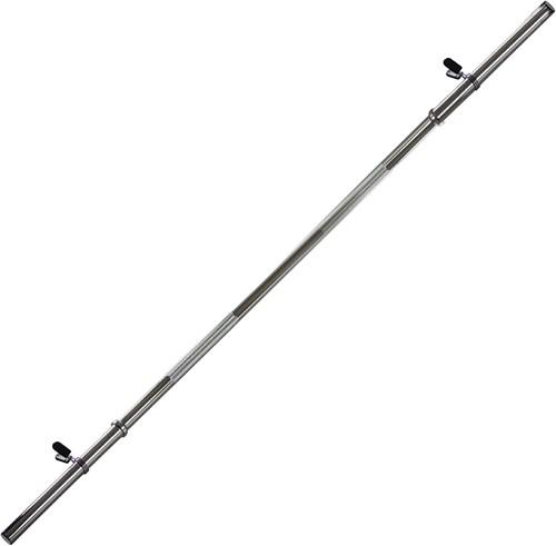 VirtuFit Halterstang - 170 cm - Veerclipsluiting - 28 mm