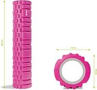 VirtuFit Grid Foam Roller - Massage roller - 62 cm - Roze-3