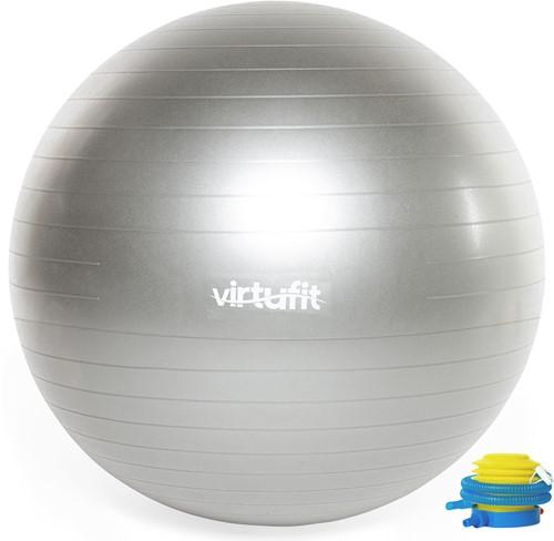 VirtuFit Anti-Burst Fitnessbal Pro - Gymbal - Swiss Ball - met Pomp - Grijs - 75 cm