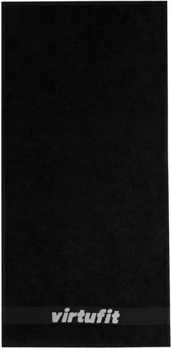 VirtuFit Handdoek - 100 x 50 cm - Zwart