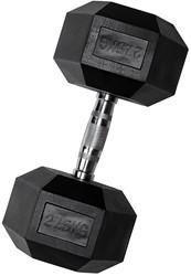 VirtuFit Hexa Dumbell - 27,5 kg - Per Stuk
