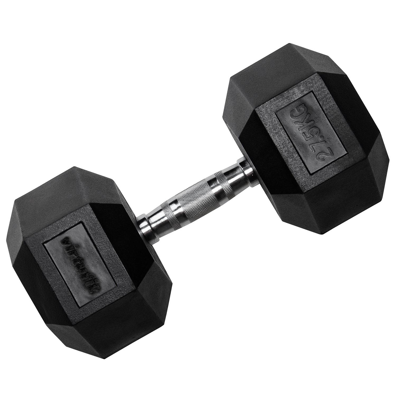 VirtuFit Hexa Dumbbell Pro - 27,5 kg - Per Stuk