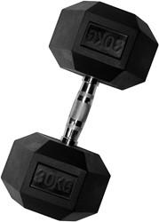 VirtuFit Hexa Dumbell - 30 kg - Per Stuk