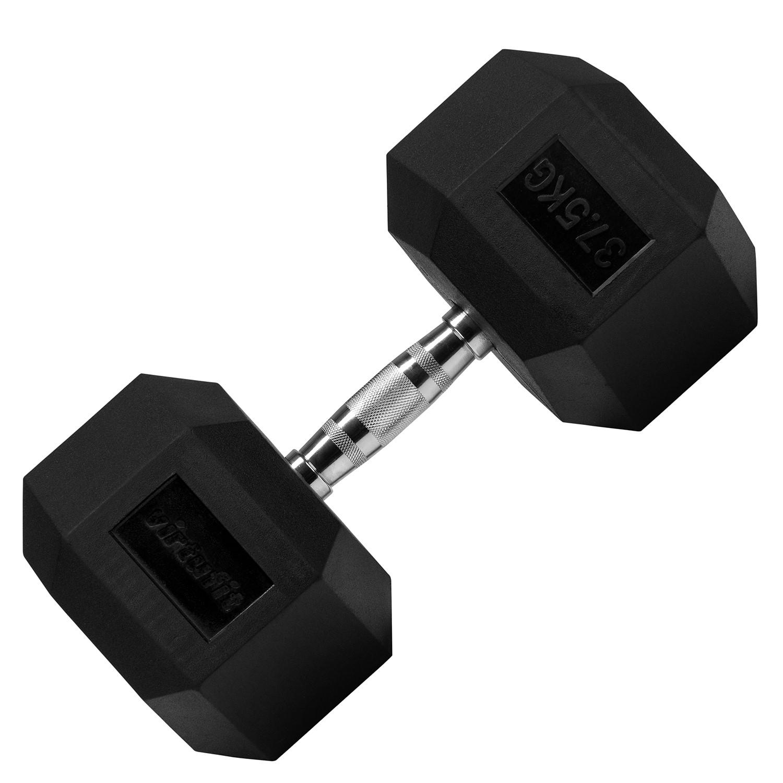 VirtuFit Hexa Dumbbell Pro - 37,5 kg - Per Stuk