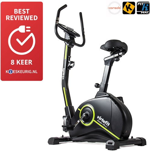 VirtuFit iConsole HTR 2.1 Ergometer Hometrainer - Inclusief Gratis Training DVD