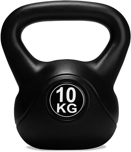 VirtuFit PVC Kettlebell - 10 kg - Zwart-2