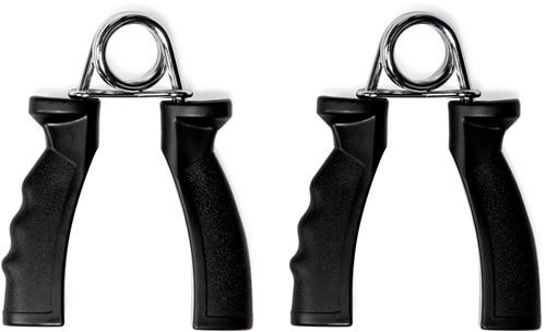 VirtuFit Handknijper - Knijphalter - Handtrainer Set - Zwart