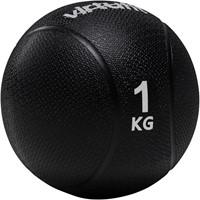 VirtuFit Medicijnbal 1 kg Zwart-2