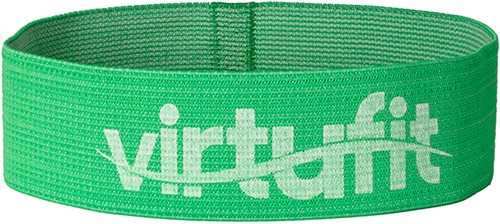 VirtuFit Mini Weerstandsband - Katoen - Groen - Medium