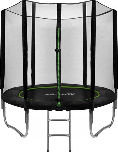 VirtuFit Trampoline met Veiligheidsnet - Zwart - 244 cm