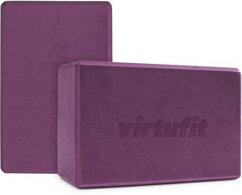 VirtuFit Premium Yoga Blok Duopack - Mulberry
