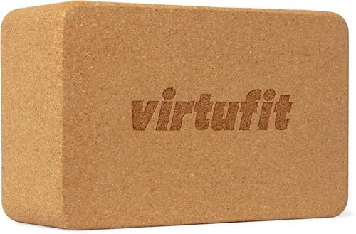 VirtuFit Premium Kurk Yoga Blok