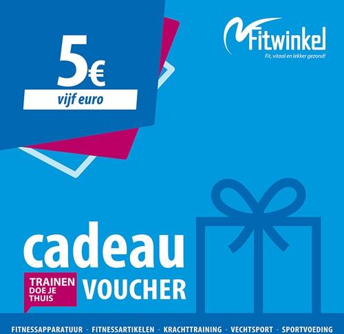 Fitwinkel Cadeaubon - 5 euro