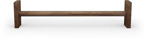 Nohrd WallBar Verhoging - 21,5 cm - Walnoot