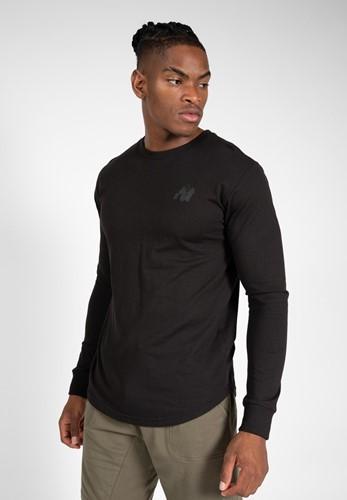 Gorilla Wear Williams Longsleeve - Zwart - S